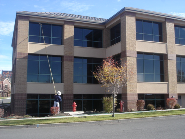commercial window cleaning idaho